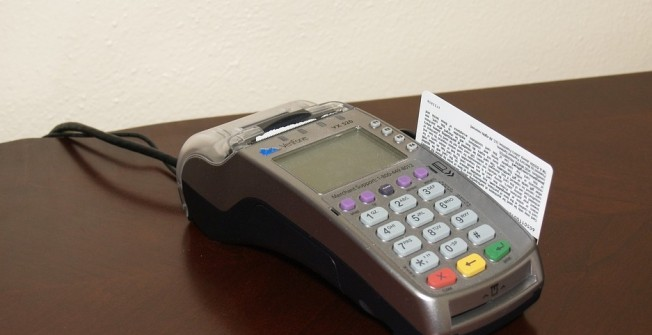 Credit and Debit Card Devices in Aberbeeg